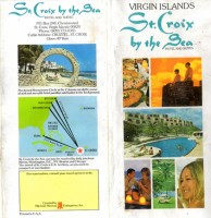 St Croix by the Sea brochure 4 pg circa 1970s